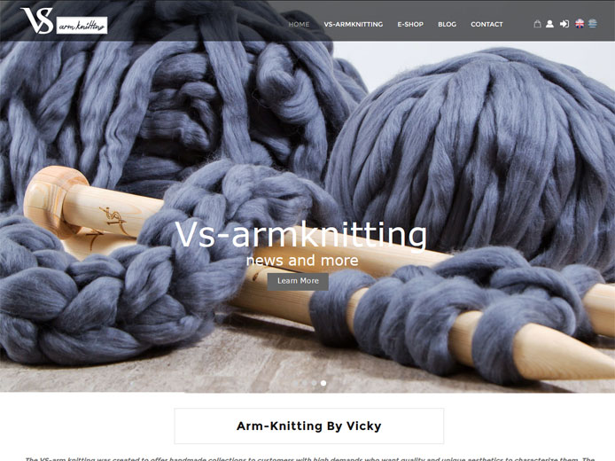 Κατασκευή e-shop | Vs-armknitting